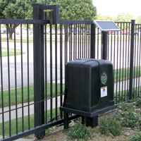 Patriot Rsl Solar Charged Slide Gate Operator With Solar