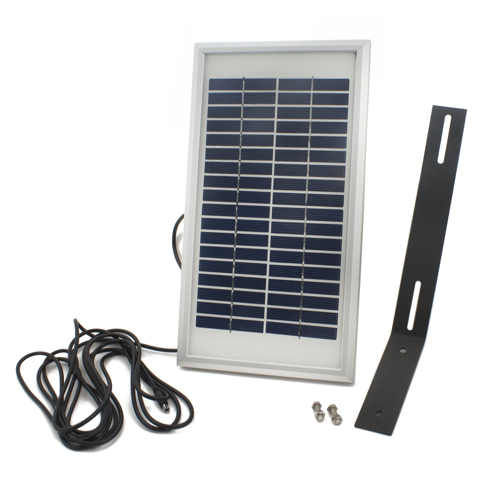 Patriot Ii Solar Charged Dual Swing Gate Operator With